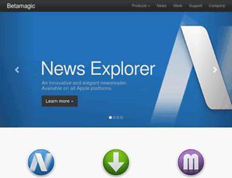 betamagic.nl screenshot