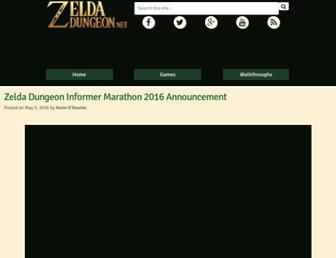 Thumbshot of Zeldadungeon.net