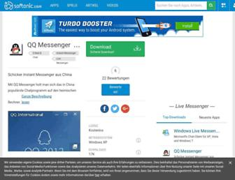 qq-messenger.de.softonic.com screenshot