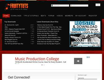 fruitytuts.com screenshot