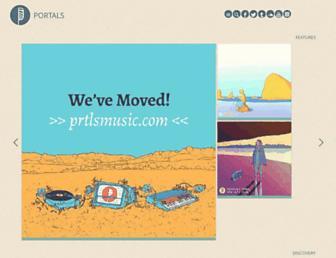 portalsmusic.com screenshot