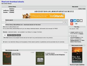 Thumbshot of Ebooksread.com