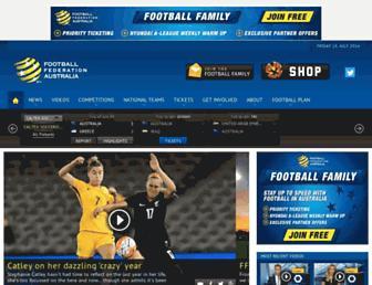Thumbshot of Footballaustralia.com.au