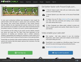 powerchalk.com screenshot