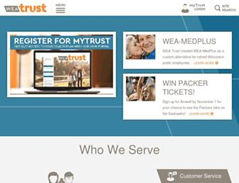 weatrust.com screenshot