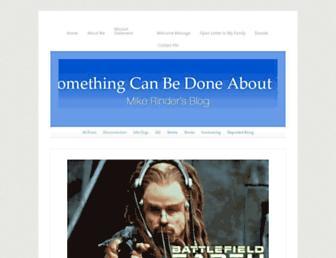 Thumbshot of Mikerindersblog.org