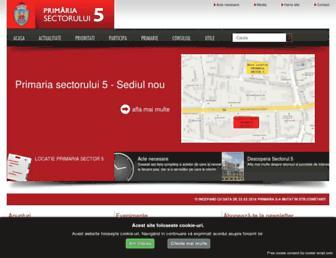 sector5.ro screenshot