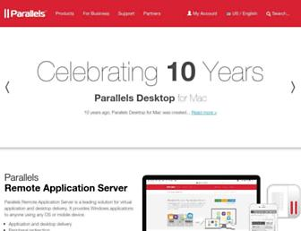 Thumbshot of Parallels.com