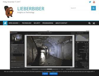 lieberbiber.de screenshot