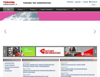 toshibatec.com screenshot