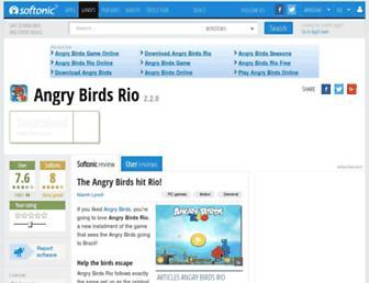 angry-birds-rio.en.softonic.com screenshot