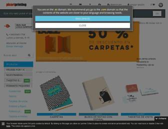 pixartprinting.es screenshot