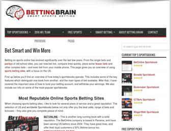 bettingbrain.com screenshot