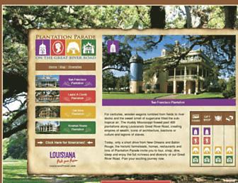 plantationparade.com screenshot