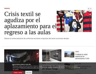 elsoldelcentro.com.mx screenshot