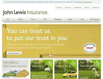 Thumbshot of Johnlewis-insurance.com