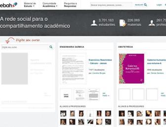 ebah.com.br screenshot
