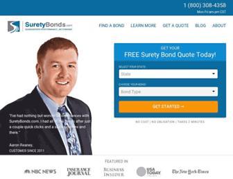 suretybonds.com screenshot