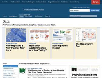 projects.propublica.org screenshot