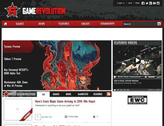Thumbshot of Gamerevolution.com
