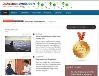 leaderonomics.com screenshot
