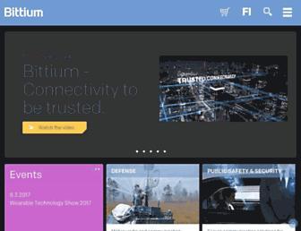 bittium.com screenshot