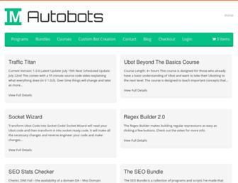 Thumbshot of Imautobots.com