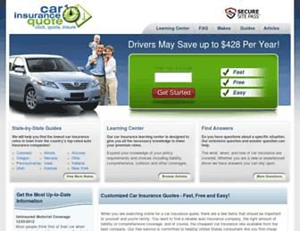 Thumbshot of Carinsurancequote.net