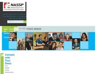 nassp.org screenshot