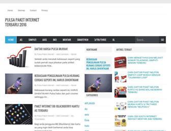 pulsapaketinternet.blogspot.com screenshot