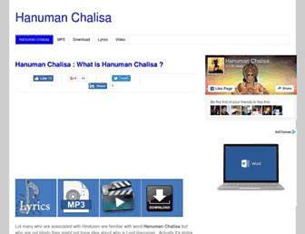 Thumbshot of Hanumanchalisamp3.co.in