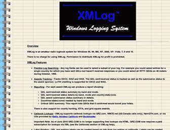 xmlog.com screenshot