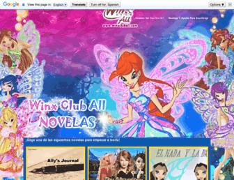 winxcluball-novelas.blogspot.com screenshot