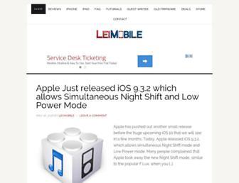 leimobile.com screenshot