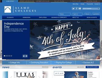 alamo.edu screenshot