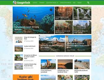 Screenshot for gezgintech.com