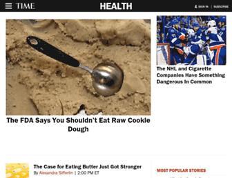 healthland.time.com screenshot