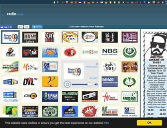 radio.net.pk screenshot