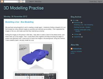 3dmodellingpractiseaw.blogspot.com screenshot