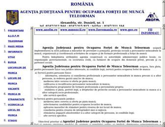 teleorman.anofm.ro screenshot