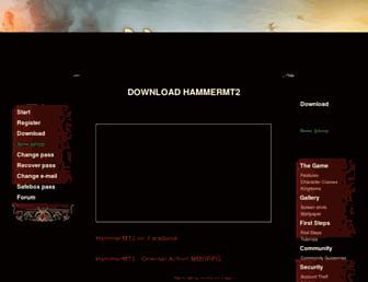 hammerm2.com screenshot