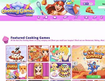 cookinggames.com screenshot