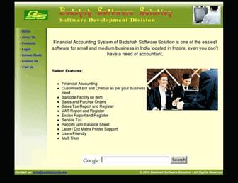 badshahsoft.com screenshot