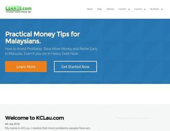 kclau.com screenshot