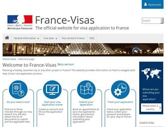 france-visas.gouv.fr screenshot