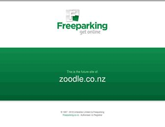 Thumbshot of Zoodle.co.nz