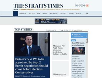 Thumbshot of Straitstimes.com