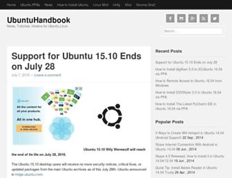 ubuntuhandbook.org screenshot