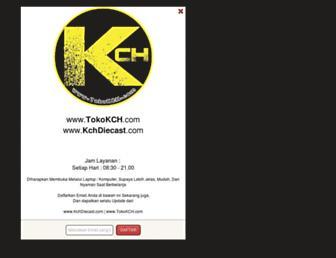 kchdiecast.com screenshot
