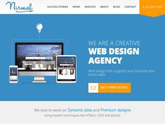 nirmal.com.au screenshot